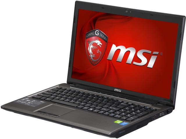 MSI CX61 2PC-499US Gaming Laptop Intel Core i5 4200M (2.5GHz) 8GB Memory 750GB HDD NVIDIA GeForce GT 820M 2GB 15.6