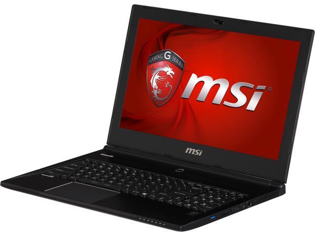 MSI GS Series GS60 Ghost Pro 3K-095 Gaming Laptop Intel Core i7 4710HQ (2.50GHz) 16GB Memory 1TB HDD 256GB SSD NVIDIA GeForce GTX 870M 3GB ...