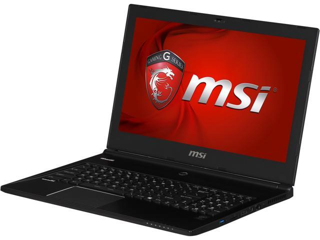 MSI GS Series GS60 Ghost Pro 3K-097 Gaming Notebook Intel Core i7 4710HQ (2.50GHz) 16GB Memory 1TB HDD 128GB SSD NVIDIA GeForce GTX 870M 3GB ...