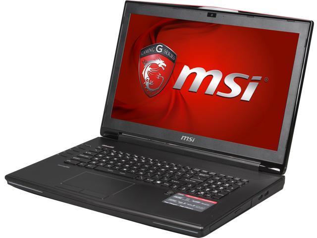 MSI GT Series GT72 Dominator-214 Gaming Laptop 4th Generation Intel Core i7 4710HQ (2.50GHz) 16GB Memory 1TB HDD 256GB SSD NVIDIA GeForce GTX ...