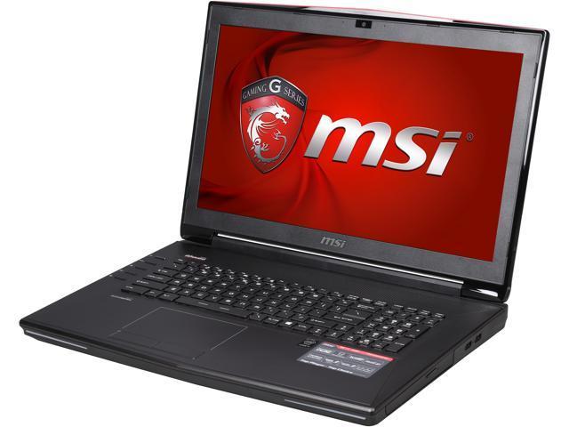 MSI GT Series GT72 Dominator-216 Gaming Laptop Intel Core i7 4710HQ (2.50GHz) 12GB Memory 1TB HDD 128GB SSD NVIDIA GeForce GTX 970M 6GB 17.3