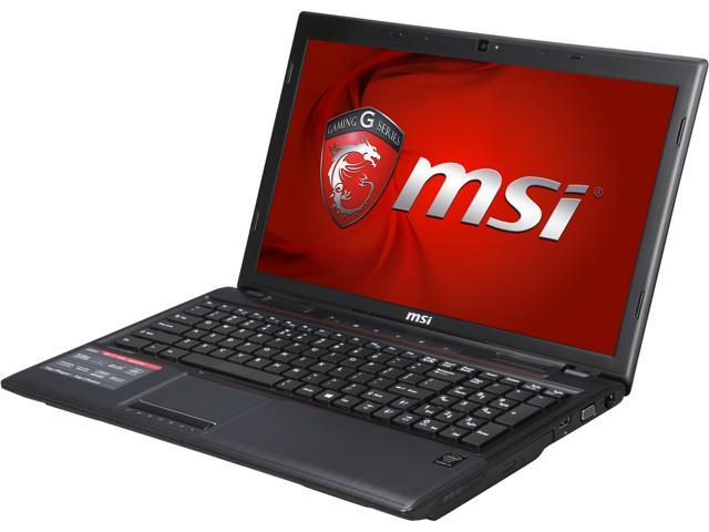 MSI GE60 Apache-629 Gaming Laptop Intel Core i7 4710HQ (2.50GHz) 8GB Memory 1TB HDD NVIDIA GeForce GTX 850M 2GB 15.6