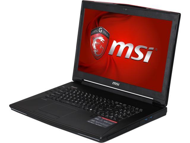 MSI GT72 Dominator Pro-445 Gaming Laptop Intel Core i7 4980HQ (2.80GHz) 32GB Memory 1TB HDD 512GB SSD NVIDIA GeForce GTX 980M 8GB 17.3