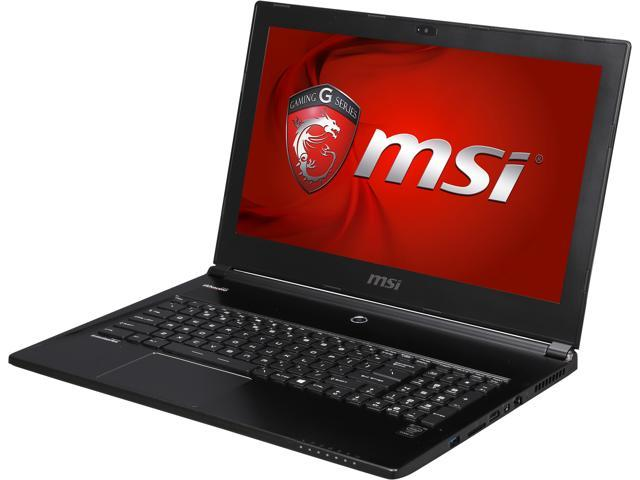 MSI GS Series GS60 Ghost-265 Gaming Laptop 4th Generation Intel Core i7 4720HQ (2.60GHz) 16GB Memory 1TB HDD 128GB SSD NVIDIA GeForce GTX 965M 2 ...