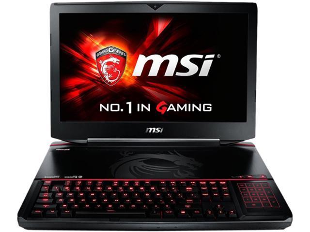 MSI GT Series GT80 Titan SLI-071 Gaming Laptop Intel Core i7 4720HQ (2.60GHz) 16GB Memory 1TB HDD 256GB SSD NVIDIA GeForce GTX 970M SLI 12 ...