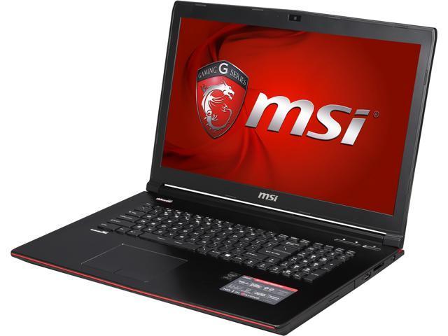 MSI GE Series GE72 Apache-027 Gaming Laptop Intel Core i7 4720HQ (2.60GHz) 16GB Memory 1TB HDD NVIDIA GeForce GTX 965M 2 GB GDDR5 17.3