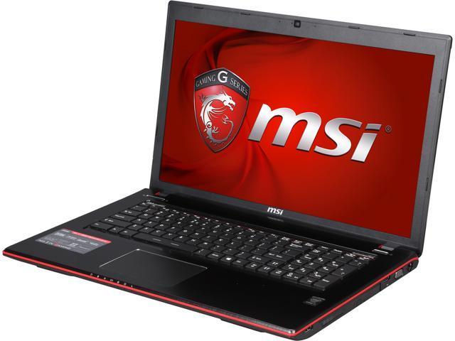 MSI GE Series GE70 Apache Pro-681 Gaming Laptop Intel Core i7 4720HQ (2.60GHz) 12GB Memory 1TB HDD NVIDIA GeForce GTX 960M 2 GB GDDR5 17.3