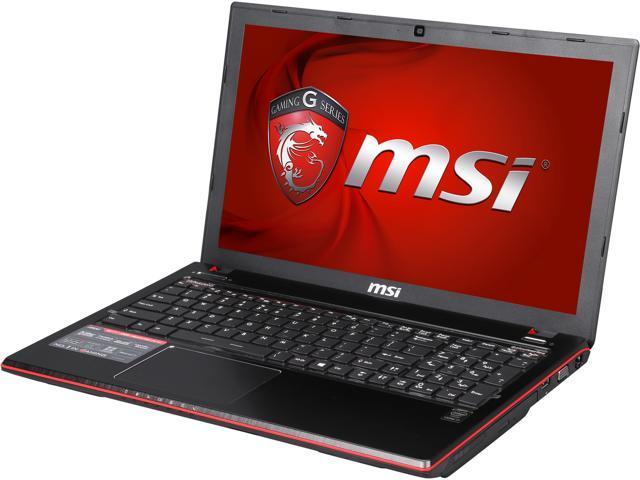 MSI GE Series GE60 Apache Pro-867 Gaming Laptop Intel Core i7 4720HQ (2.60GHz) 8GB Memory 1TB HDD NVIDIA GeForce GTX 960M 2GB 15.6