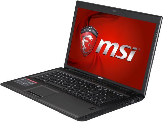 MSI GP Series GP70 Leopard Pro-486 Gaming Laptop Intel Core i7 4720HQ (2.60GHz) 8GB Memory 1TB HDD NVIDIA GeForce GTX 950M 2GB 17.3