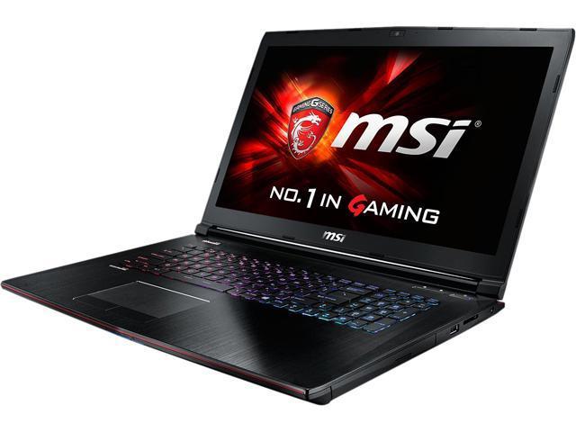 MSI GE Series GE72 Apache Pro-077 Gaming Laptop 5th Generation Intel Core i7 5700HQ (2.70GHz) 16GB Memory 1TB HDD 128GB SSD NVIDIA GeForce GTX ...