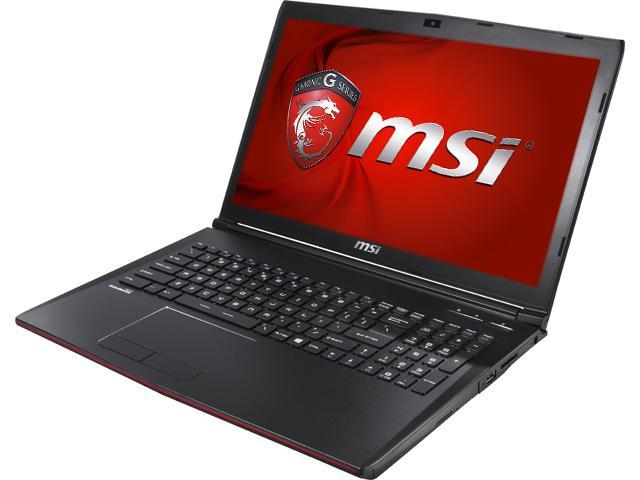 MSI GP Series GP72 Leopard Pro-002 Gaming Laptop 5th Generation Intel Core i7 5700HQ (2.70GHz) 8GB Memory 1TB HDD NVIDIA GeForce GTX 950M 2GB ...