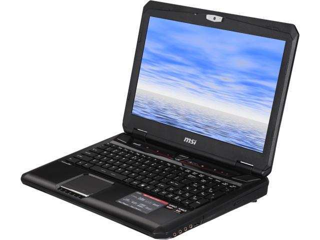 MSI GX Series GX60 Destroyer-280 Gaming Laptop AMD A-Series A10-5750M (2.50GHz) 8GB Memory 1TB HDD AMD Radeon R9 M290X 2GB 15.6