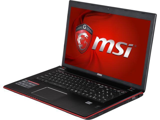 MSI GE Series GE70 Apache Pro-012 Gaming Laptop Intel Core i7 4700HQ (2.40GHz) 12GB Memory 1TB HDD NVIDIA GeForce GTX 860M 2GB 17.3