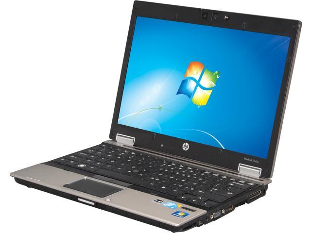 HP 2540p Notebook Intel Core i7 LM640 2.13Ghz 4GB RAM 250GB HDD DVDRW Webcam Windows 7 Pro 64 Bit