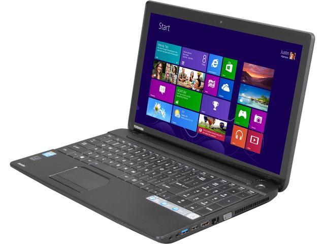 TOSHIBA C55T-A5222 Notebook Intel Celeron 1005M (1.90GHz) 4GB Memory 500GB HDD Intel HD Graphics 15.6