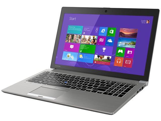 TOSHIBA Tecra Z50-A1503 (PT545U-019004) Intel Core i7 4600U (2.10GHz) 8GB Memory 256GB SSD 15.6