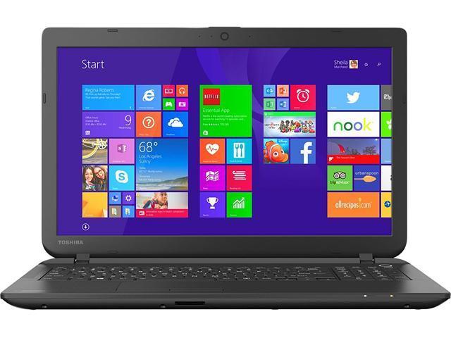 TOSHIBA Satellite C55-B5296 Notebook Intel Celeron 4GB Memory 500GB HDD 15.6
