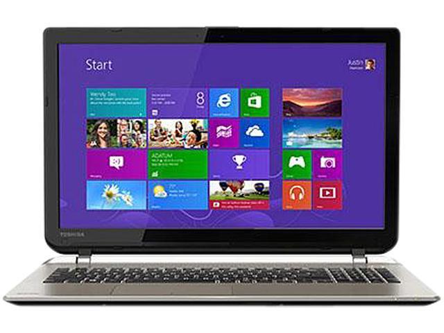 TOSHIBA Laptop PSPQ6U-01600T Intel Core i7 12GB Memory 1TB HDD 15.6