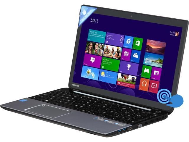 TOSHIBA Satellite S55T-A5132 Notebook Intel Core i7 4700MQ (2.40GHz) 12GB Memory 750GB HDD Intel HD Graphics 4600 15.6