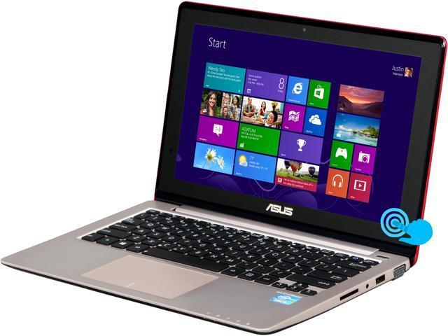 ASUS Laptop VivoBook X202E-DH31T-PK Intel Core i3 3217U (1.80GHz) 4GB Memory 500GB HDD Intel HD Graphics 4000 11.6