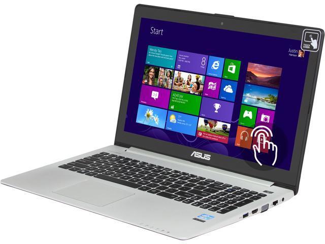 ASUS Laptop VivoBook V500CA-DB51T Intel Core i5 3337U (1.80GHz) 6GB Memory 500GB HDD Intel HD Graphics 4000 15.6