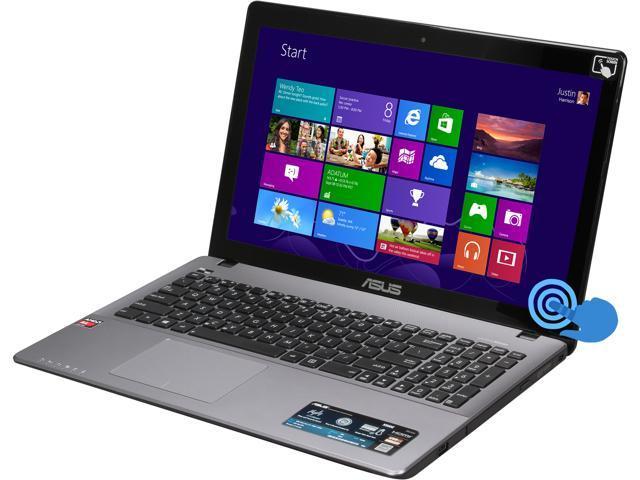 ASUS Laptop K552EA-DH41T AMD A-Series A4-5000 (1.50GHz) 6GB Memory 750GB HDD AMD Radeon HD 8330 15.6