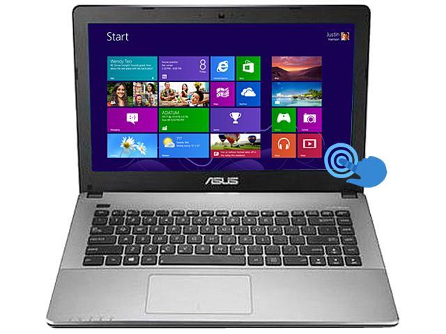 ASUS 90NB0279-M03670 Notebook Intel Pentium dual-core 2117U (1.80GHz) 4GB Memory 500GB HDD Intel HD Graphics 14.0