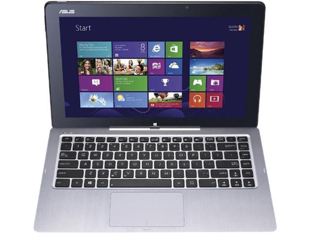 ASUS Transformer Book 90NB02W1-M01250 Tablet Intel Core i7 4500U (1.80GHz) 8GB Memory 256GB SSD HDD Intel HD Graphics 4400 13.3