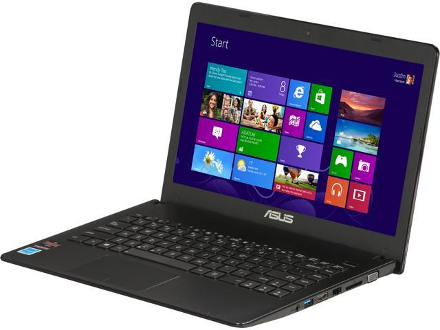 ASUS X401U-BE20602Z Notebook AMD E2-Series E2-1800 (1.7GHz) 4GB Memory 500GB HDD AMD Radeon HD 7340 14.0
