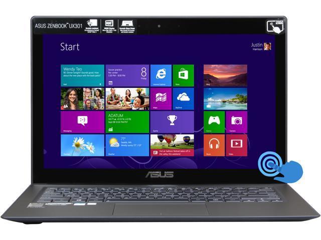 ASUS UX301LA-XH72T Intel Core i7 4558U (2.8GHz) 8GB Memory 512GB SSD 13.3