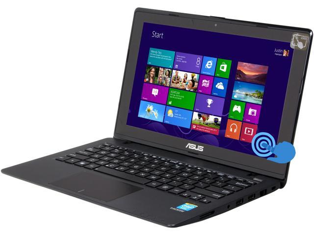 "ASUS X200CA-DB01T 11.6"" Touchscreen Notebook Intel Celeron 1007U (1.5GHz), 2GB Memory, 320GB HDD, Windows 8"