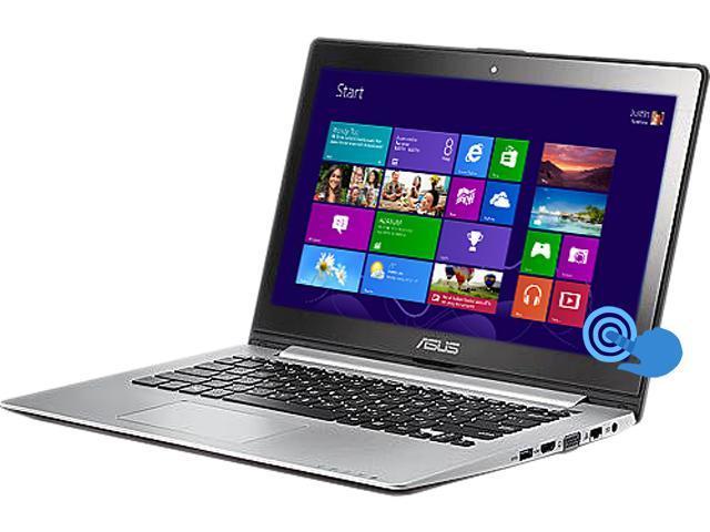 ASUS VivoBook S300CA-BBI5T01 Notebook Intel Core i5 3337U (1.80GHz) 4GB Memory 500GB HDD Intel HD Graphics 4000 13.3
