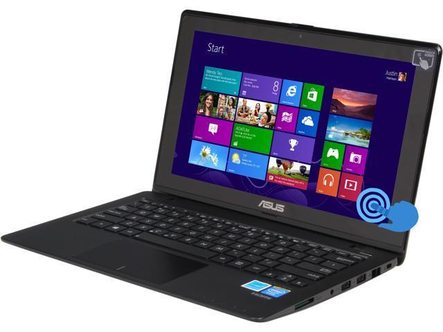ASUS VivoBook F200CA-SH01T Notebook Intel Celeron 1007U (1.5GHz) 4GB Memory 500GB HDD Intel HD Graphics 11.6