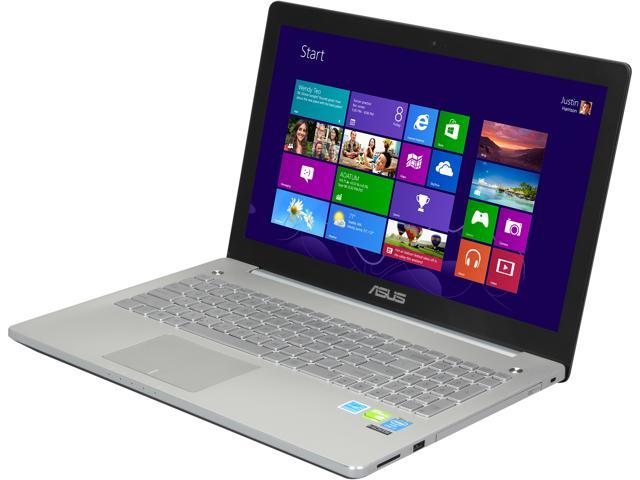 ASUS N550JV-DB71 Gaming Laptop Intel Core i7 4700HQ (2.40GHz) 8GB Memory 1TB HDD NVIDIA GeForce GT 750M 15.6