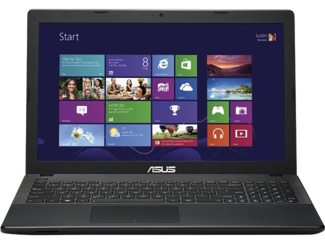 ASUS X551MA-DS21Q Notebook Intel Pentium N3520 (2.17GHz) 4GB Memory 500GB HDD Intel HD Graphics 15.6