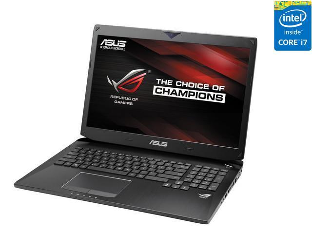 ASUS ROG G750 Series G750JZ-DS71 Gaming Laptop Intel Core i7 4700HQ (2.40GHz) 24GB Memory 1TB HDD 256GB SSD NVIDIA GeForce GTX 880M 17.3