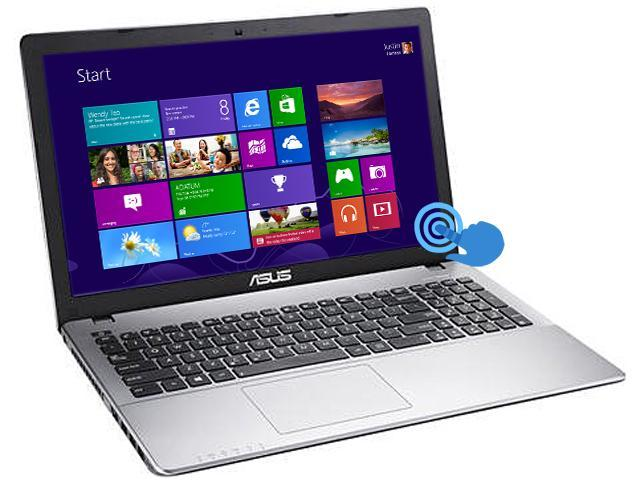 ASUS CLD-RRR510CA-OB01-AK Notebook Intel Celeron 1007U (1.5GHz) 4GB Memory 500GB HDD Intel HD Graphics 15.6
