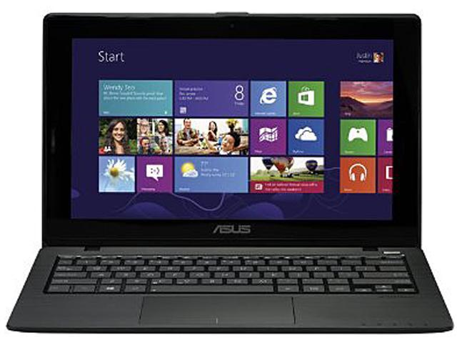ASUS K200MA-DS01T-BL Notebook Intel Celeron N2815 (1.86GHz) 4GB Memory 500GB HDD Intel HD Graphics 11.6