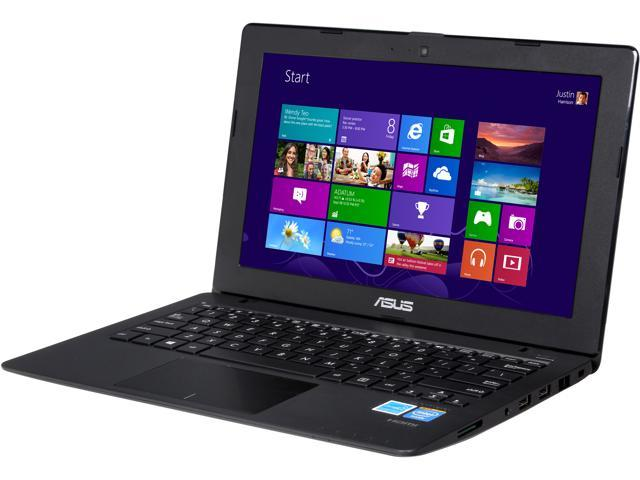 ASUS X200MA-DS02 Notebook Intel Celeron N2815 (1.86GHz) 4GB Memory 500GB HDD Intel HD Graphics 11.6