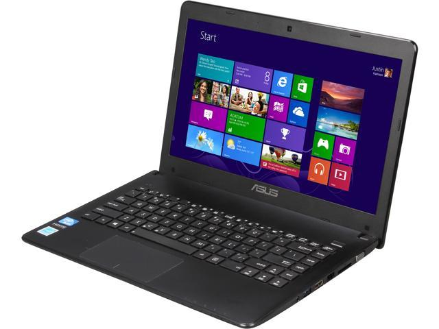 ASUS X401A-BCL0705Y Notebook Intel Celeron 1000M (1.80GHz) 4GB Memory 320GB HDD Intel HD Graphics 14.0