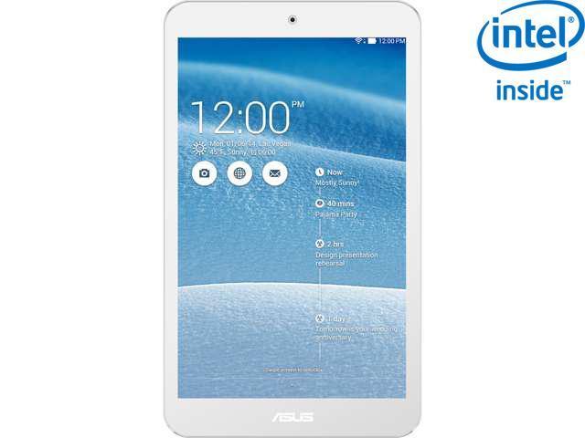 """ASUS MeMO Pad ME181C-A1-WH 16GB eMMC 8.0"""" Tablet"""
