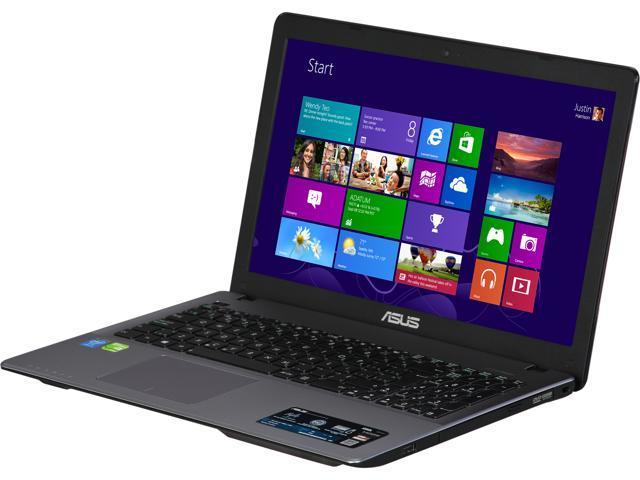 ASUS X550LC-FH51-CB Notebook Intel Core i5 4200U (1.60GHz) 8GB Memory 1TB HDD NVIDIA GeForce GT 720M 15.6