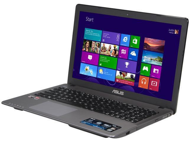 ASUS Laptop R510DP-FH11 AMD A-Series A10-5750M (2.50GHz) 8GB Memory 750GB HDD AMD Radeon HD 8670M 15.6