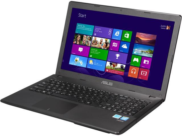 ASUS X551MAV-EB01-B Notebook Intel Baytrail-M Dual-Core N2830 (2.16GHz) 4GB Memory 500GB HDD Intel HD Graphics 15.6