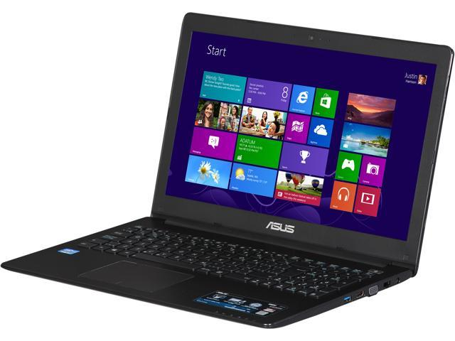 ASUS X502CA-BH31-CB-BK Bilingul Version Notebook Intel Core i3 2367M (1.40GHz) 4GB Memory 750GB HDD