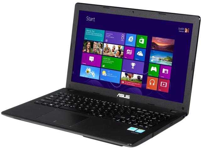 ASUS D550MAV-DB01 Notebook Intel Baytrail-M N2830 (2.16GHz) 4GB Memory 500GB HDD Intel HD Graphics 15.6