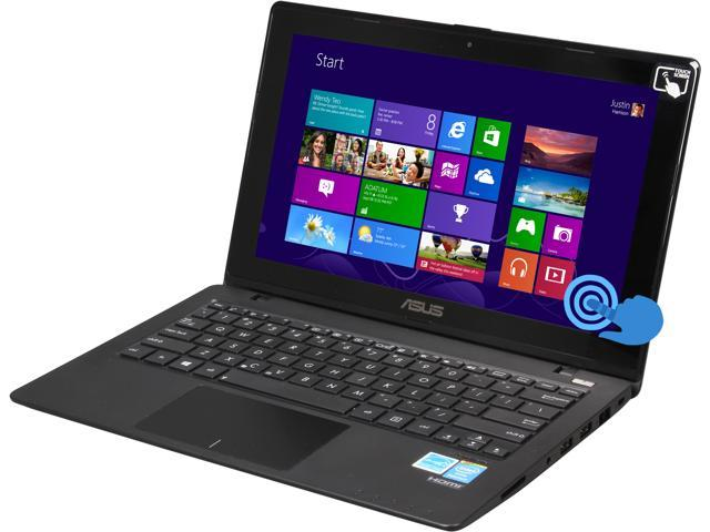 ASUS Laptop X200CA-DH21T-K Intel Pentium dual-core 2117U (1.80GHz) 4GB Memory 500GB HDD Intel HD Graphics 11.6
