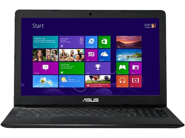 ASUS X551MA-RCLN03 Notebook Intel Celeron N2815 (1.86GHz) 4GB Memory 500GB HDD Intel HD Graphics 15.6
