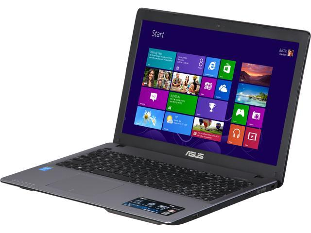 ASUS K550LA-MS52 Notebook Intel Core i5 4200U (1.60GHz) 8GB Memory 1TB HDD Windows 8 64-Bit