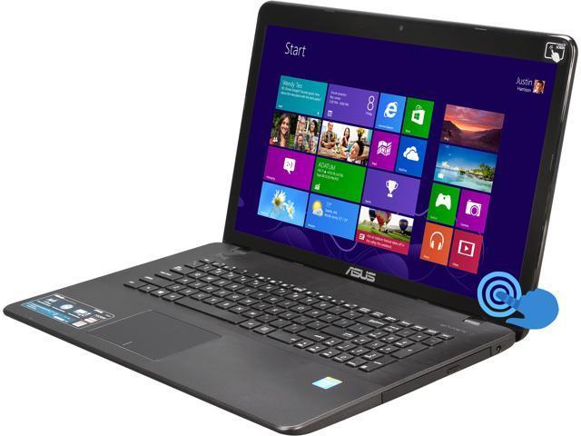 ASUS X751MA-DH01TQ Notebook Intel Celeron N2930 (1.83GHz) 8GB Memory 1TB HDD Intel HD Graphics 17.3